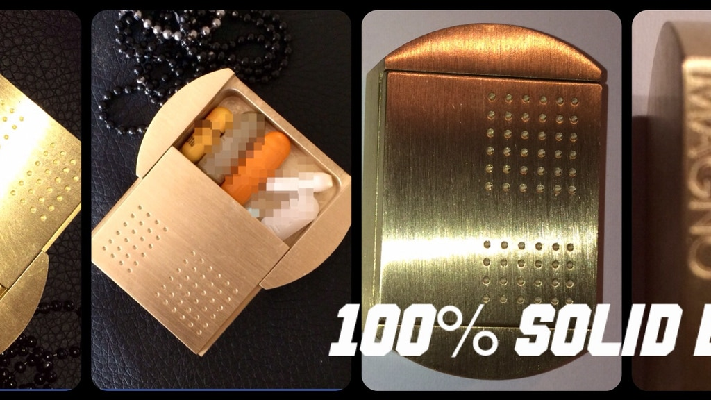 The DogTagPillBox ©® This Model is 100% Brass project video thumbnail