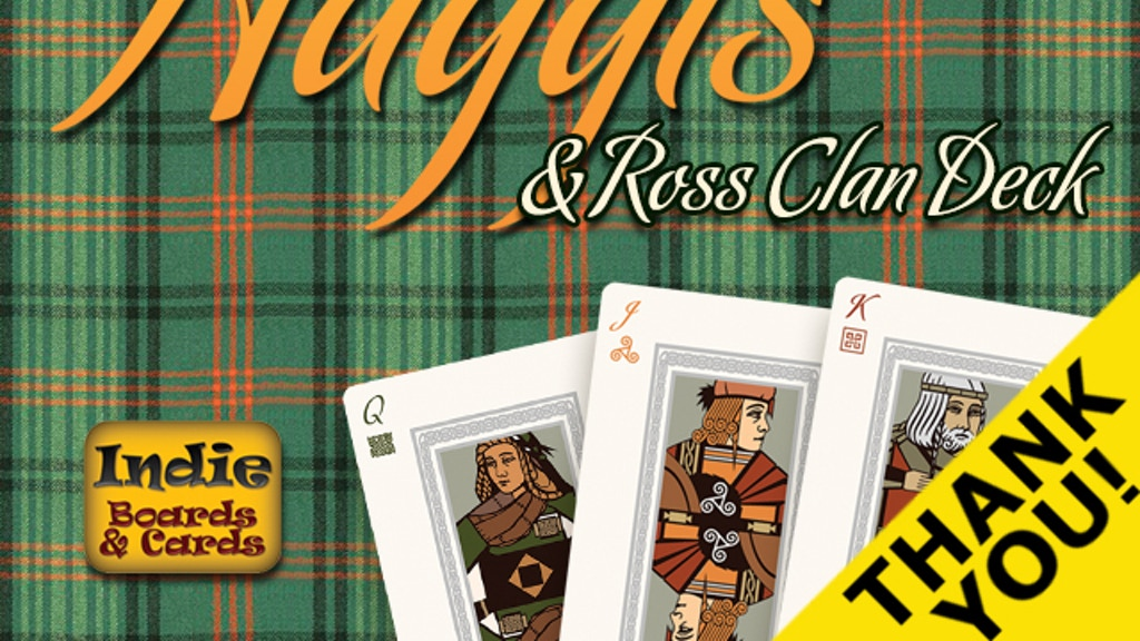 Haggis & Ross Clan deck project video thumbnail