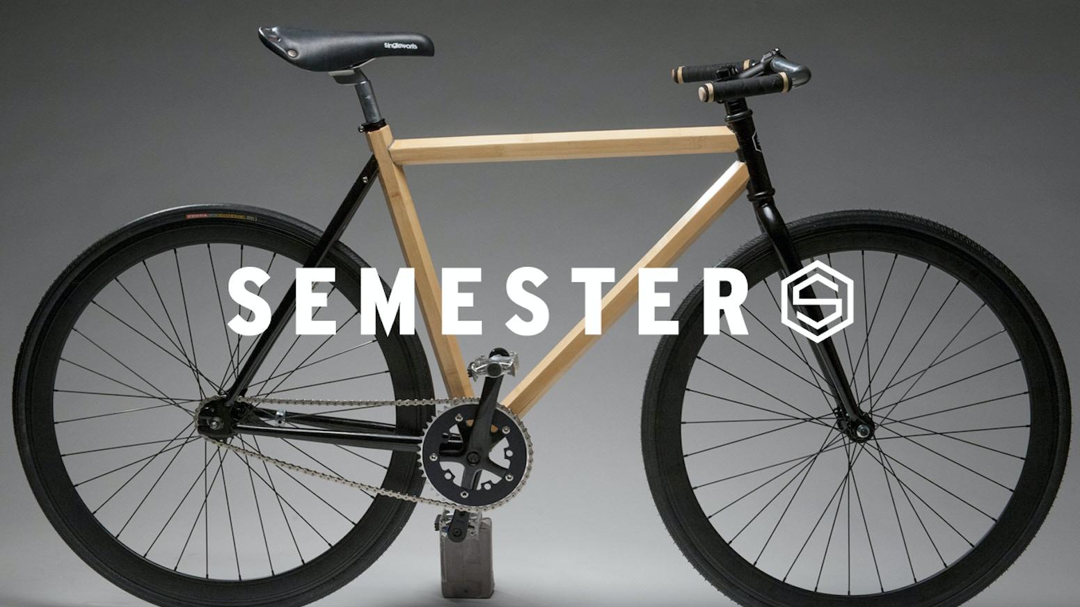 Semester Bicycle: HexTube Bamboo + Carbon Fiber Bike by Pamela Dorr ...