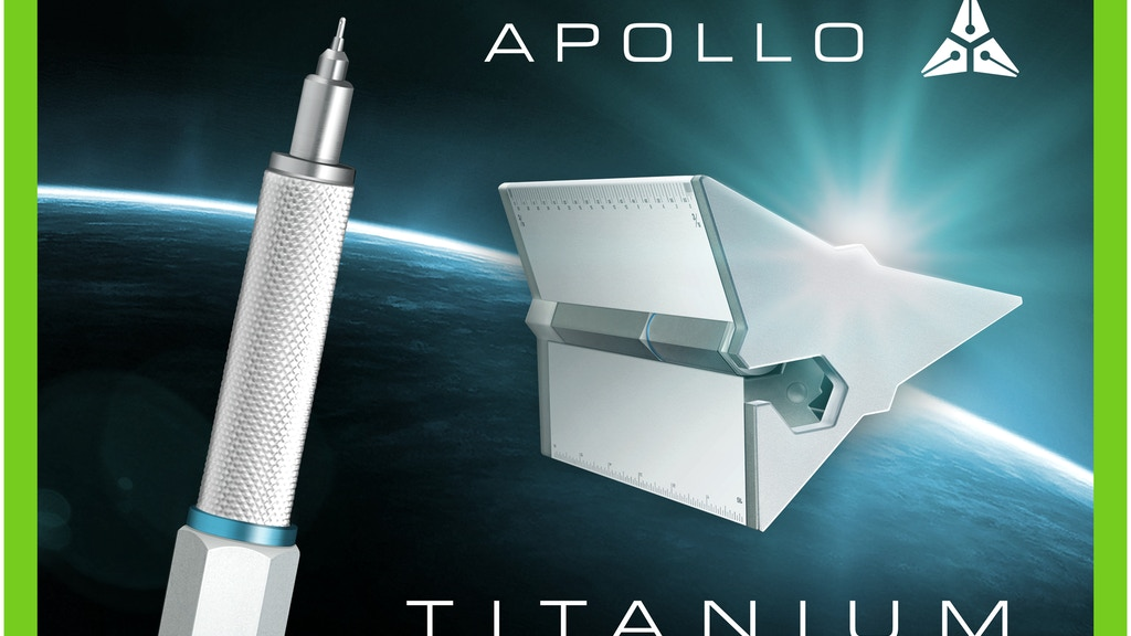 The Apollo Technical Pen and Drafting Scale project video thumbnail