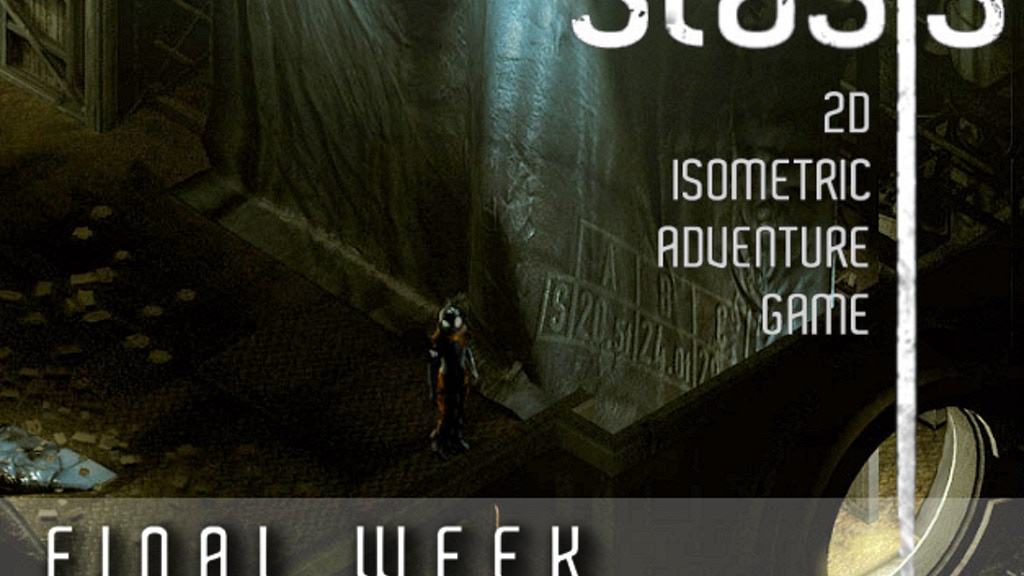 STASIS - 2D Isometric SciFi Horror Adventure Game. project video thumbnail
