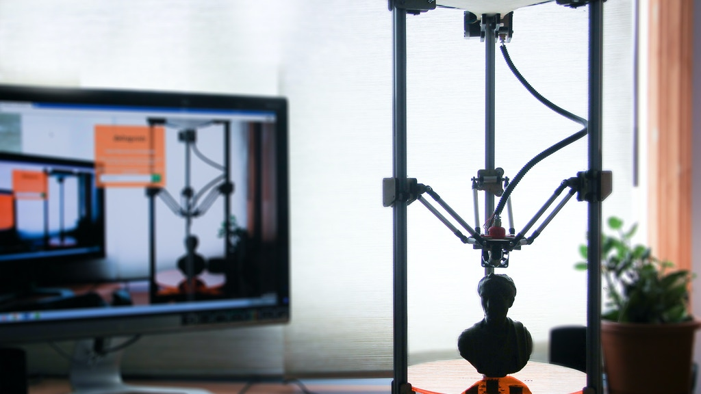 Deltaprintr - A simple, affordable 3D Printer! project video thumbnail