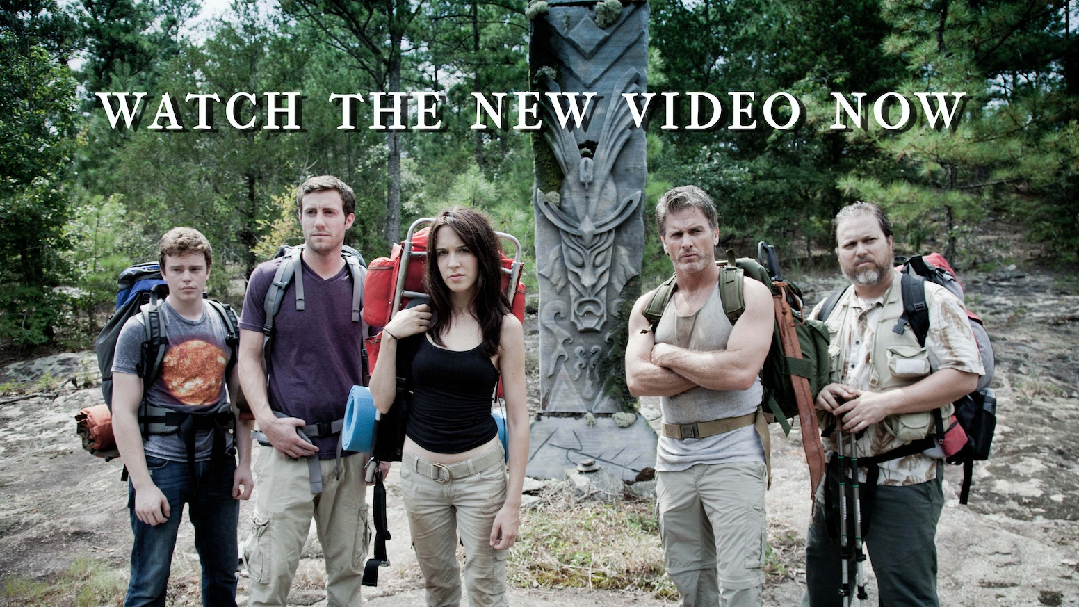 A group of hikers on the Appalachian Trail stumbles across an ancient secret that threatens their survival.