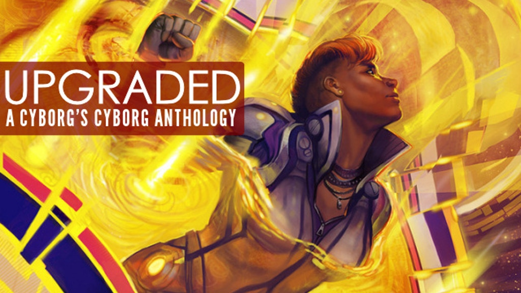 UPGRADED: A Cyborg Anthology edited by Neil Clarke project video thumbnail