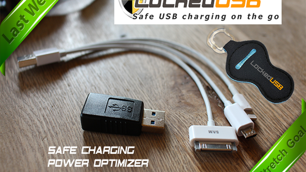 LockedUSB Adapter - USB Charger Firewall & Power Optimizer project video thumbnail