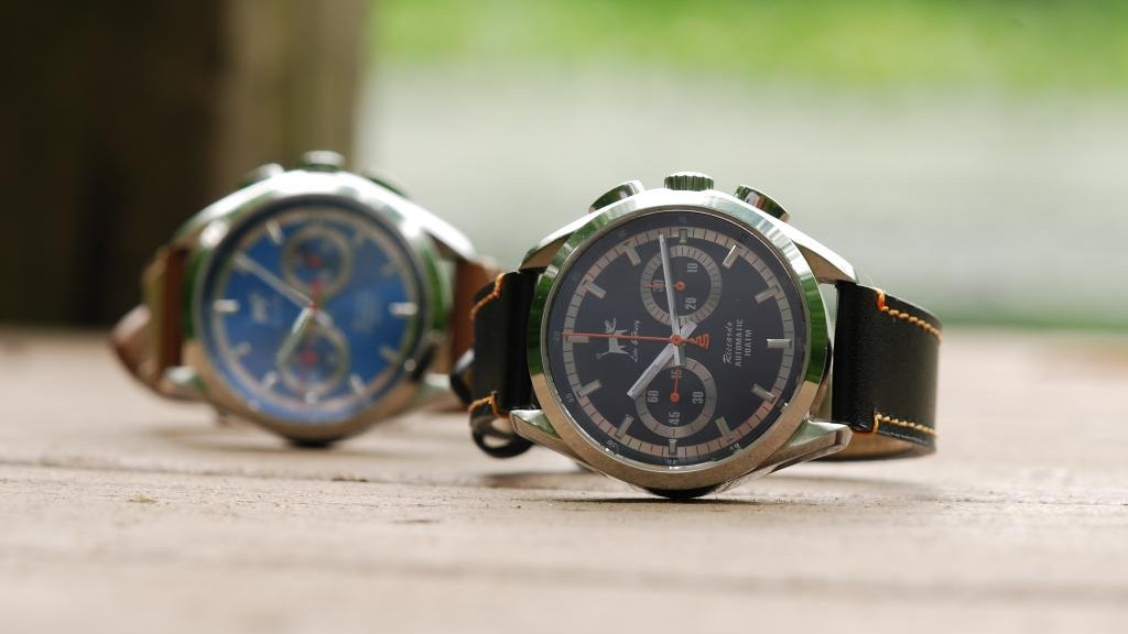 Lew & Huey Watches - The Riccardo Automatic Chronograph project video thumbnail