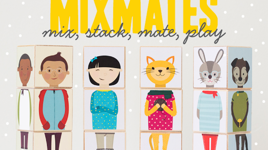 Mixmates: Colorful Mix-and-Match Wooden Blocks project video thumbnail
