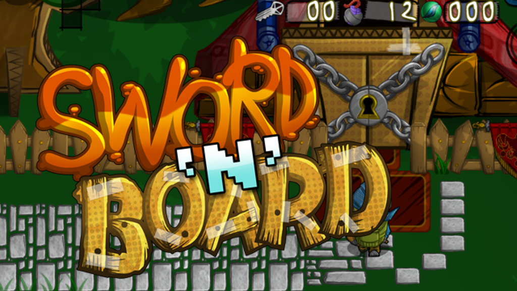 Sword 'N' Board - Now coming to Wii U! project video thumbnail