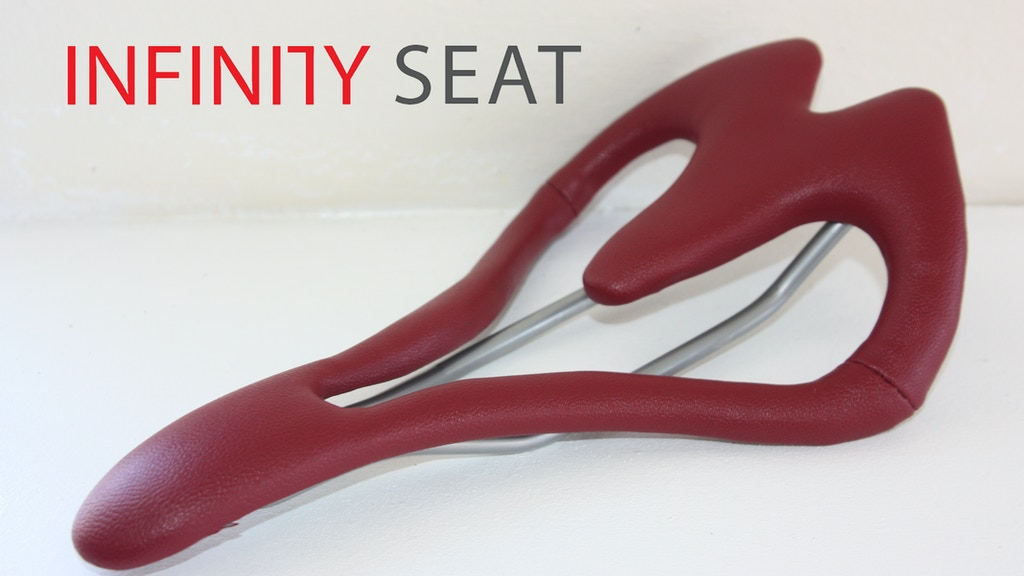 INFINITY SEAT - Revolutionizing the bicycle seat project video thumbnail