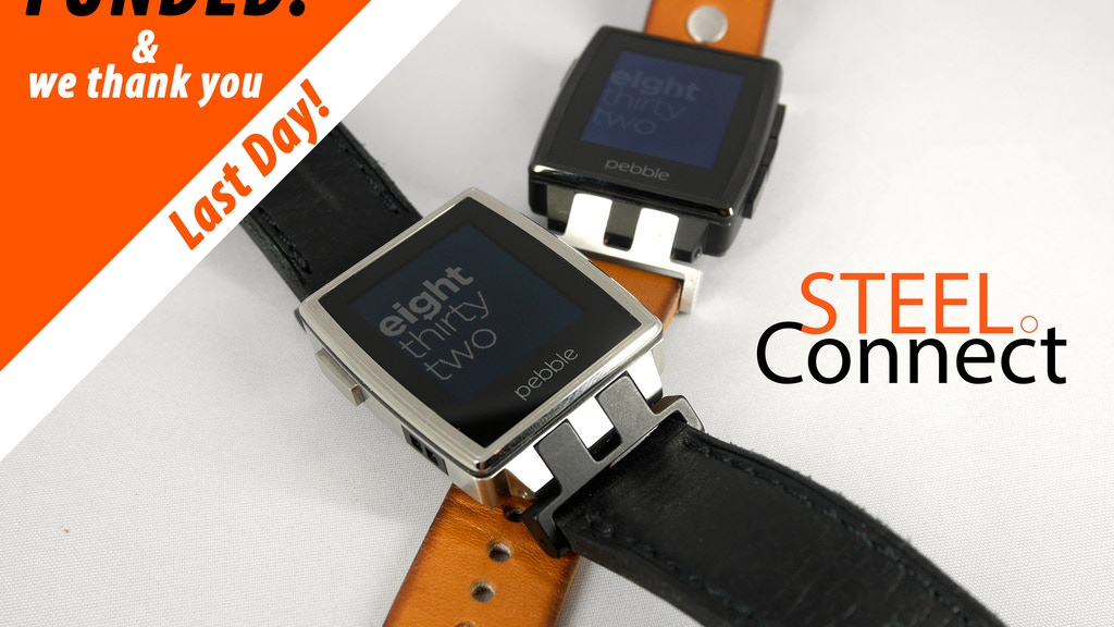 SteelConnect - Connecting your Pebble Steel with any Strap project video thumbnail
