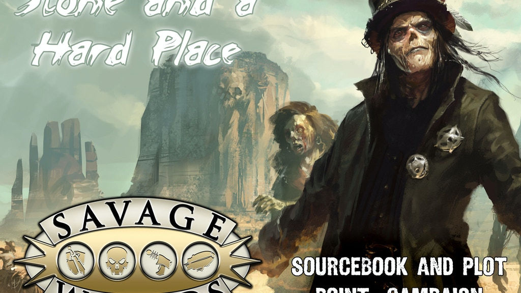 Deadlands: Stone and a Hard Place project video thumbnail