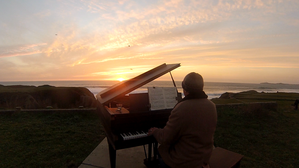 Sunset Piano Opus Two for Twelve Pianos project video thumbnail