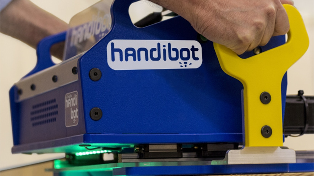 Handibot™: A Smart Digital Power Tool project video thumbnail