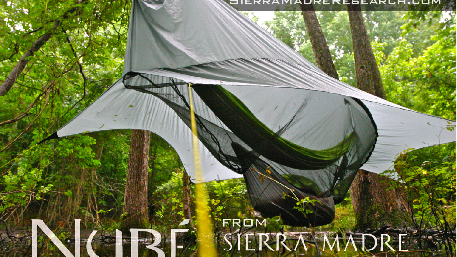 The most complete hammock shelter ever imagined, its elevated patented design is engineered to protect you AND your gear!