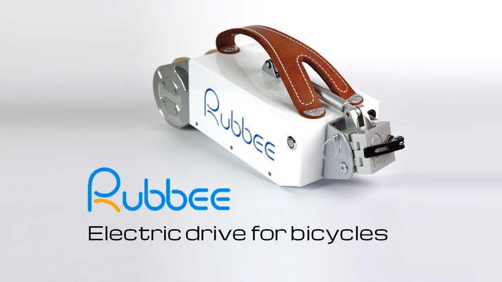 Rubbee - The electric drive for bicycles project video thumbnail