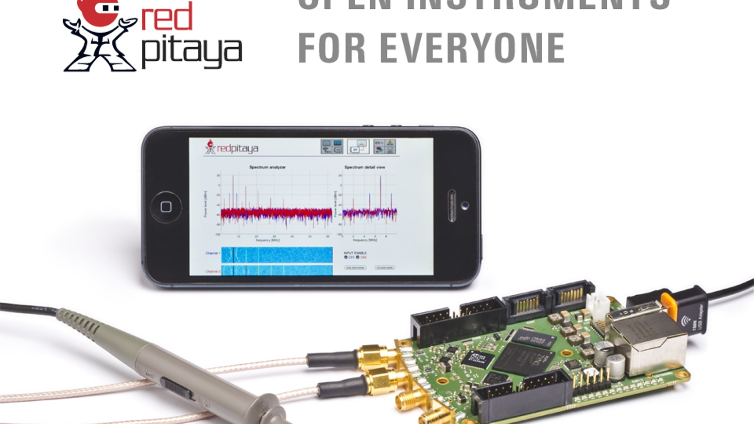 Red Pitaya: Open instruments for everyone by Red Pitaya — Kickstarter