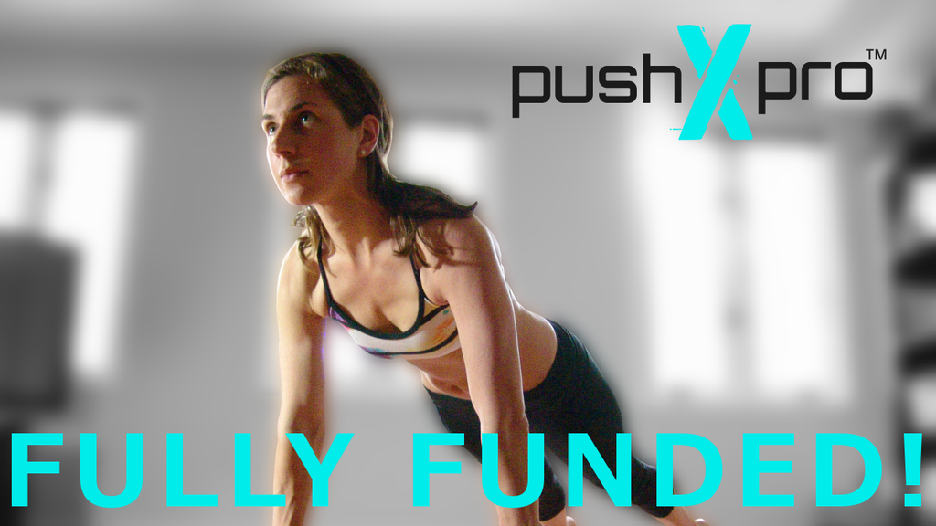 pushXpro: Revolutionizing the push-up exercise project video thumbnail