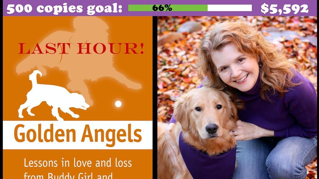 Golden Angels pet loss memoir project video thumbnail