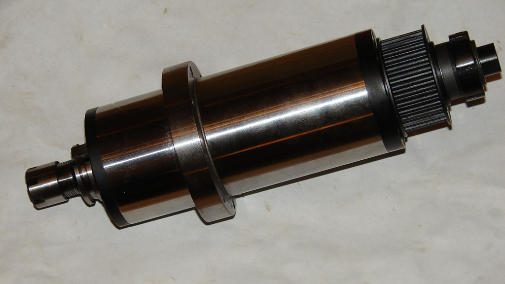 Spindle Shaft Gearbox : Cnc bt iso atc spindle cartridge and shaft kit