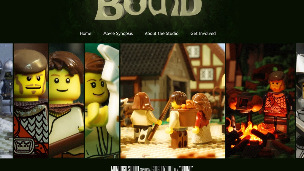 """""""Bound"""" the Movie - Fun. Animated. Brickfilm. project video thumbnail"""