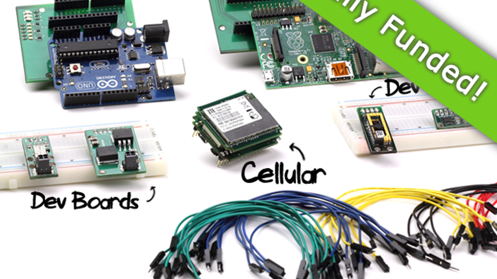SparqEE CELLv1.0: Cellular made easy (Arduino/Pi/+) project video thumbnail