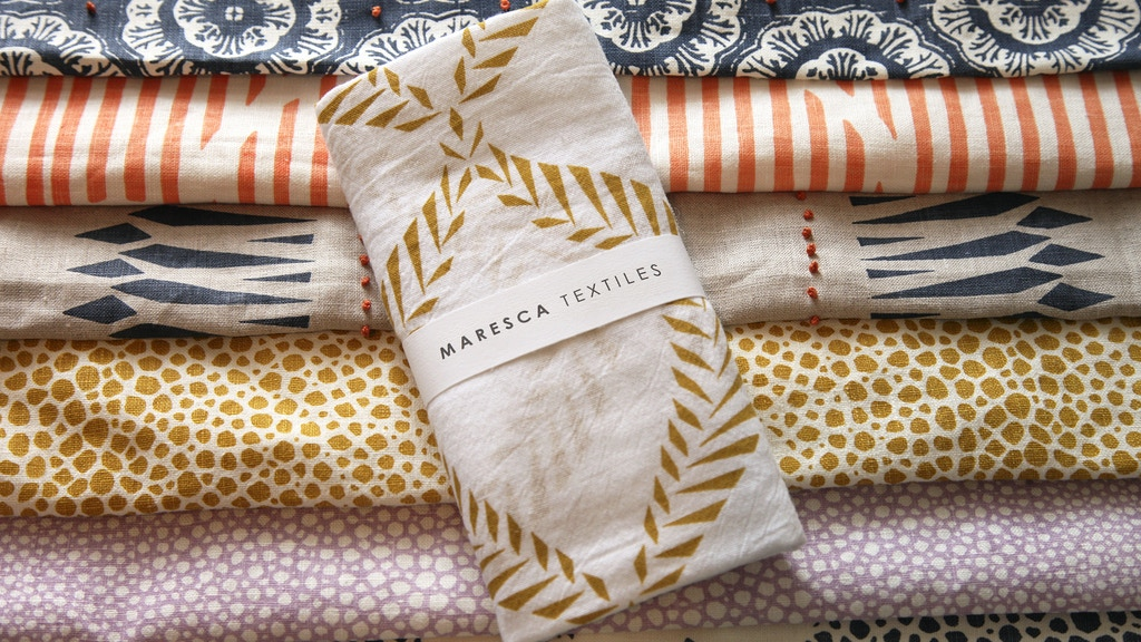 Maresca Textiles to Sample Fabric Yardage in the US! project video thumbnail