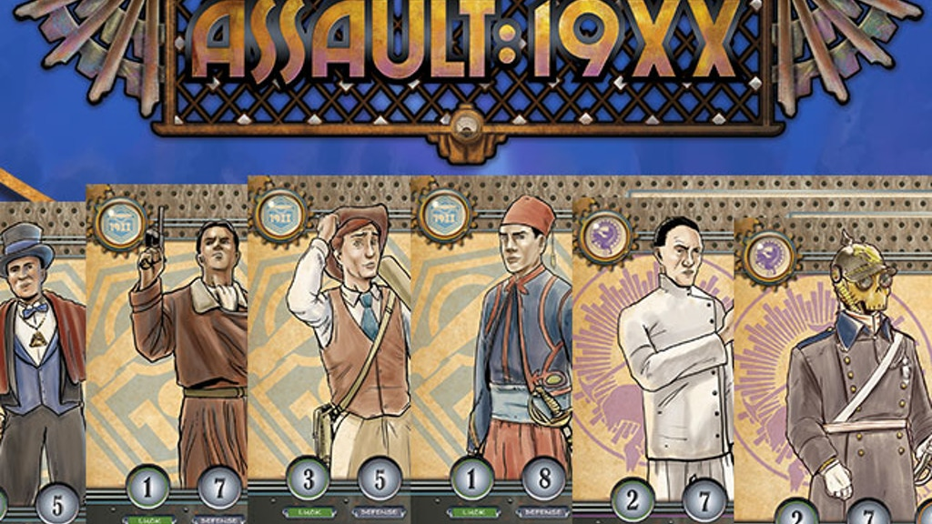 ASSAULT:19XX - A team based game of epic 1930s  action!! project video thumbnail