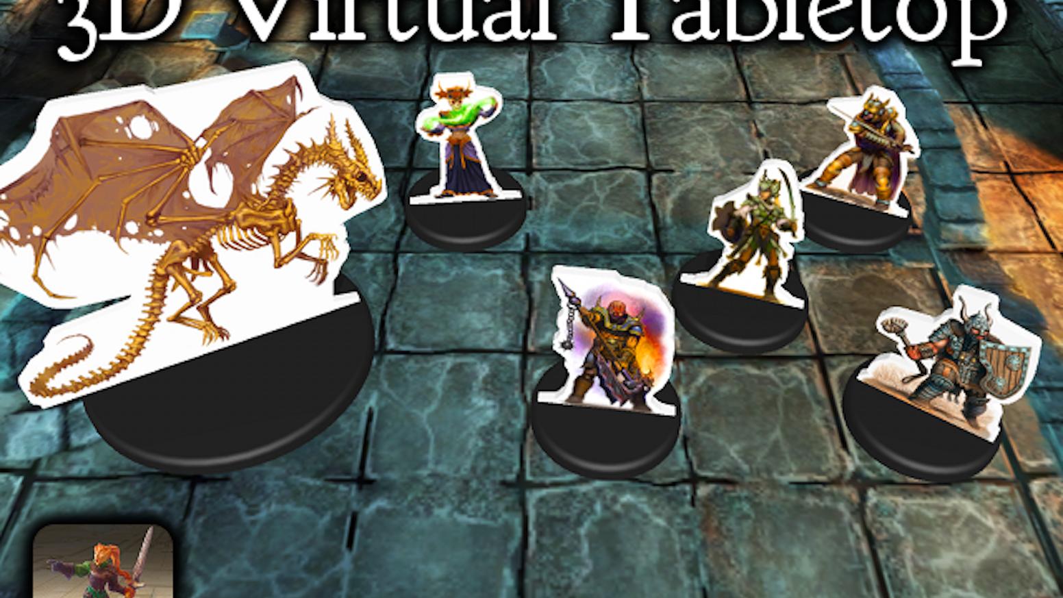 3D Virtual Tabletop: Visually Stunning RPGs on iPad, Android