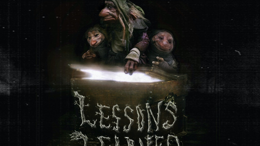 LESSONS LEARNED: A Practical Puppet Short Film project video thumbnail
