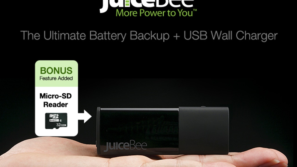 2-in-1 Battery Backup + USB Wall Charger with MicroSD Reader project video thumbnail