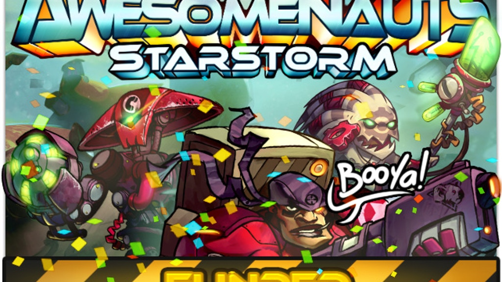 Awesomenauts: Starstorm project video thumbnail