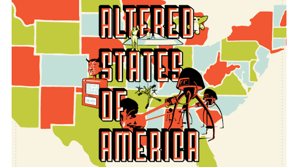 The Altered States of America – Silkscreen Print Project project video thumbnail