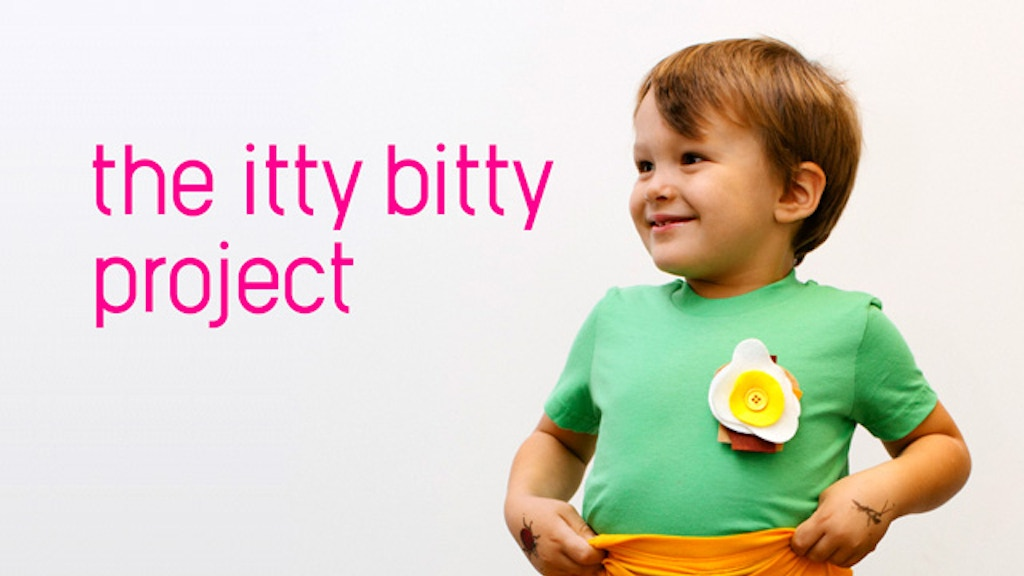 The Itty Bitty Project - Creativity Inducing Tshirts project video thumbnail