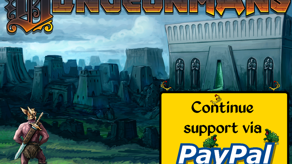 Dungeonmans: The Heroic Adventure Roguelike project video thumbnail