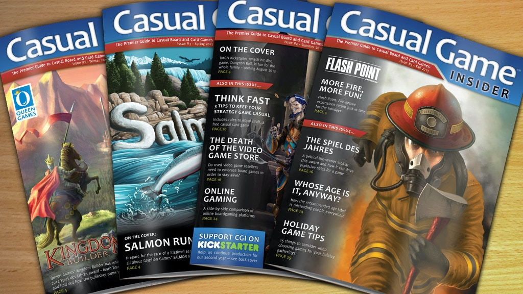 Casual Game Insider Magazine (Year 2) project video thumbnail
