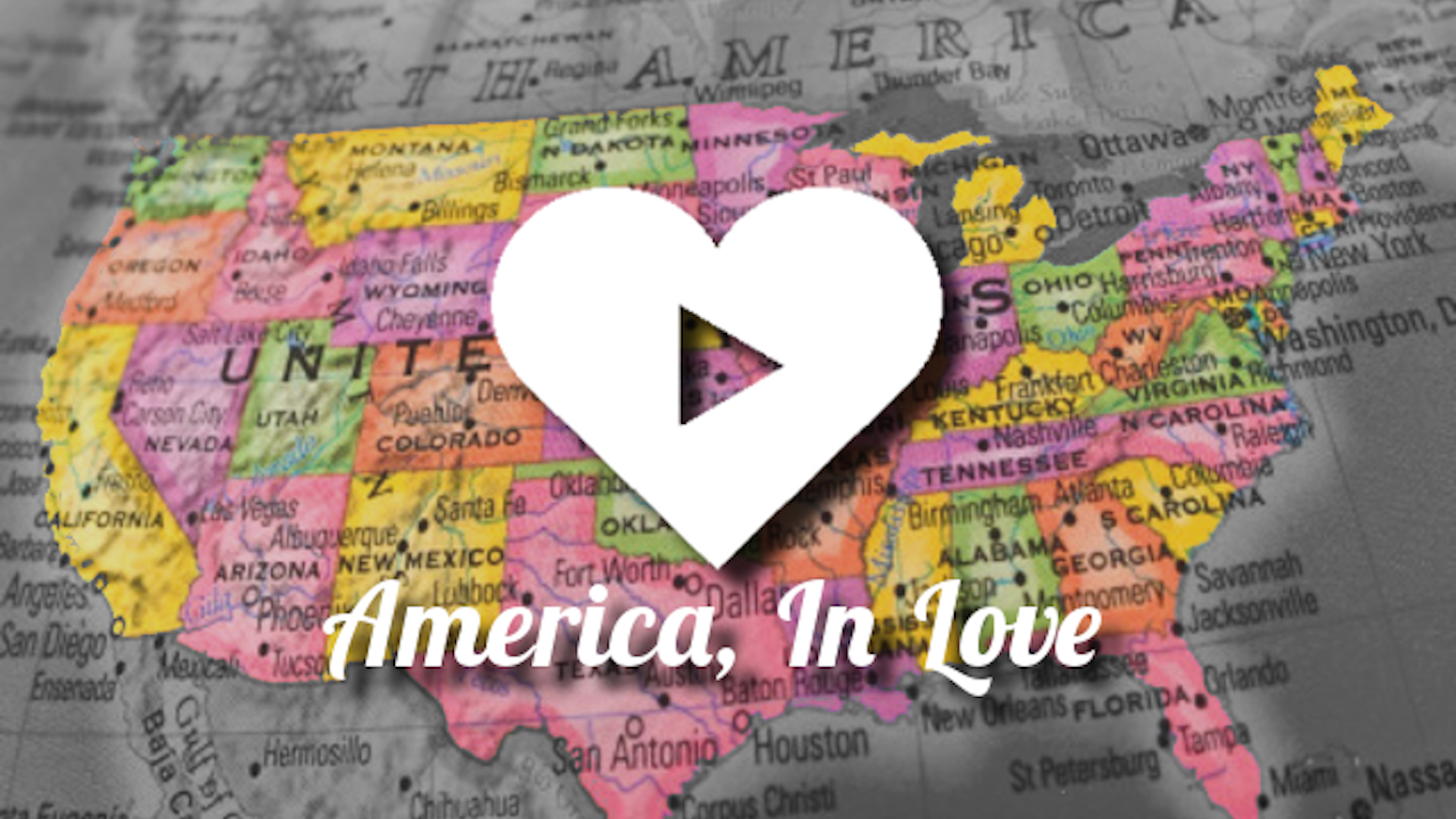 Capturing 100 of the greatest love stories across America. True love exists—you've just got to be willing to find it.