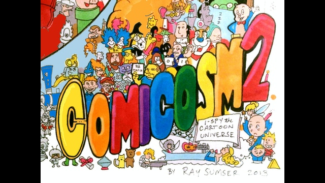 I Spy Cartoon Characters : I spy a cartoon universe by ray sumser —kickstarter