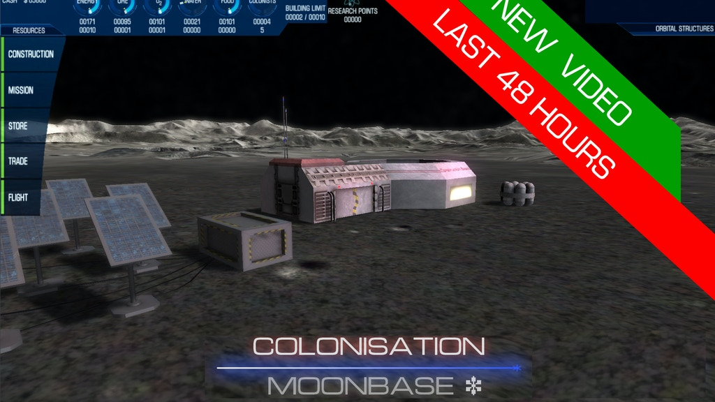 Colonisation: Moonbase, An indie game for PC project video thumbnail