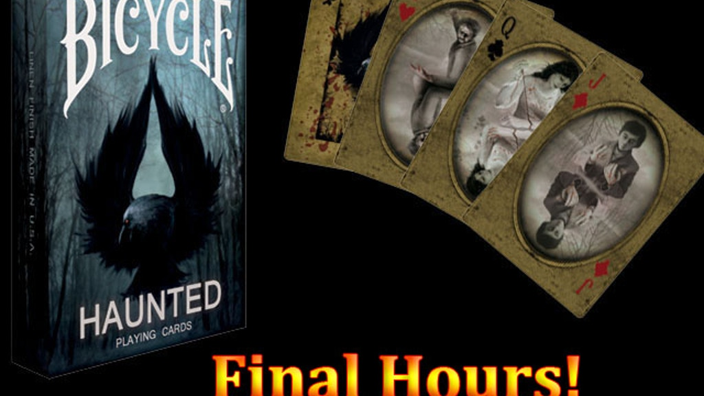 Bicycle Haunted Playing Cards project video thumbnail