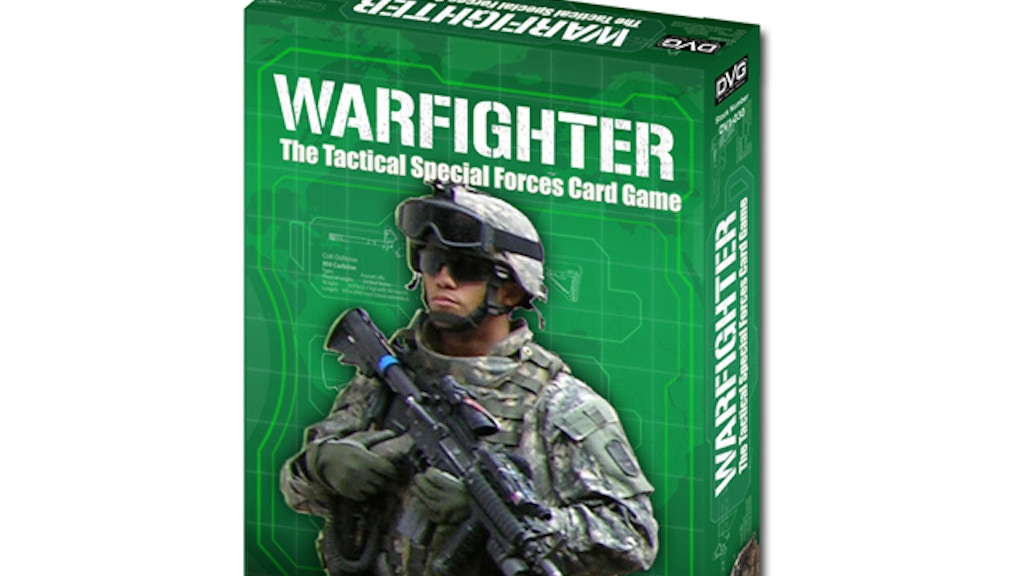 WARFIGHTER - The Tactical Special Forces Card Game project video thumbnail
