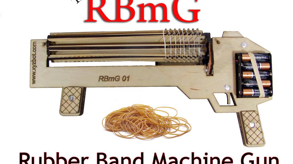 Rubber Band machine Gun project video thumbnail