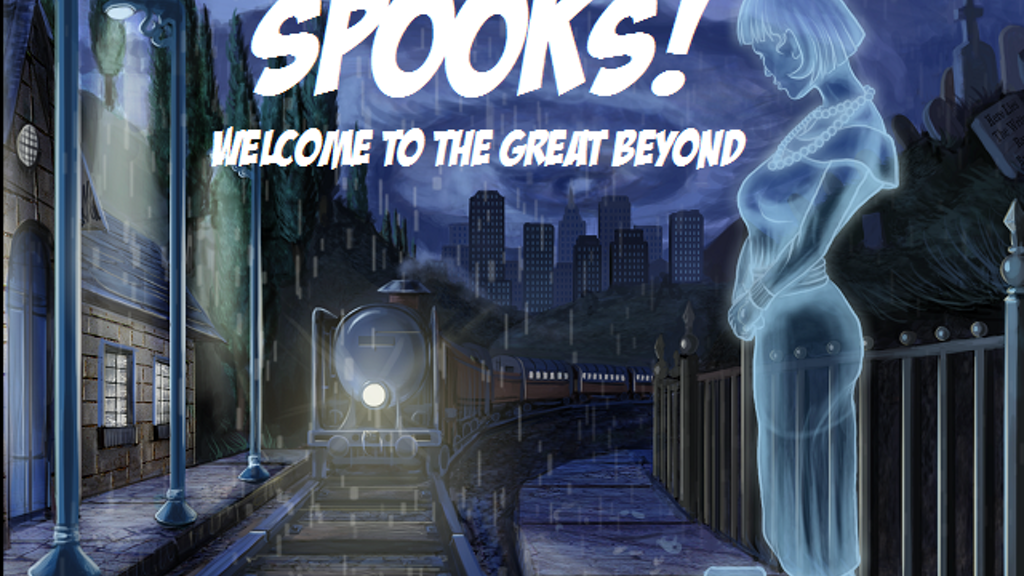 """Spooks! Welcome to the Great Beyond"" Tabletop RPG project video thumbnail"