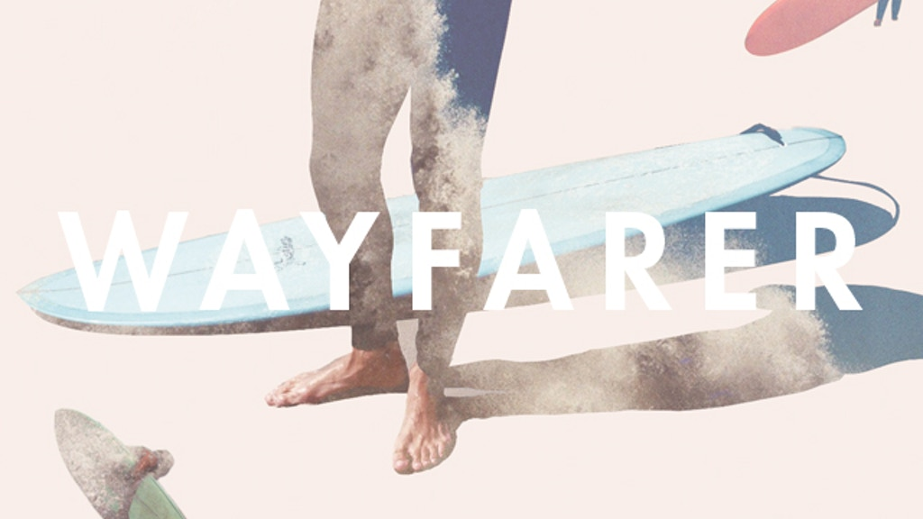 WAYFARER Magazine, by SALT SURF project video thumbnail