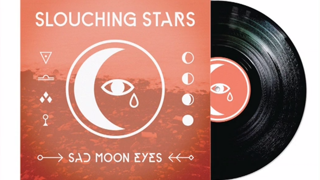"Slouching Stars' new LP, ""Sad Moon Eyes"" project video thumbnail"