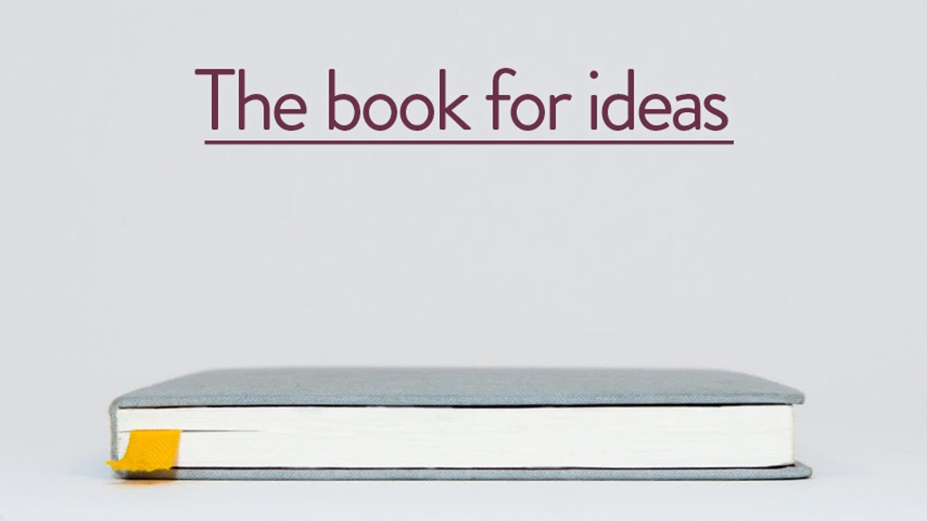BARON FIG - Sketchbooks & Notebooks for Thinkers project video thumbnail