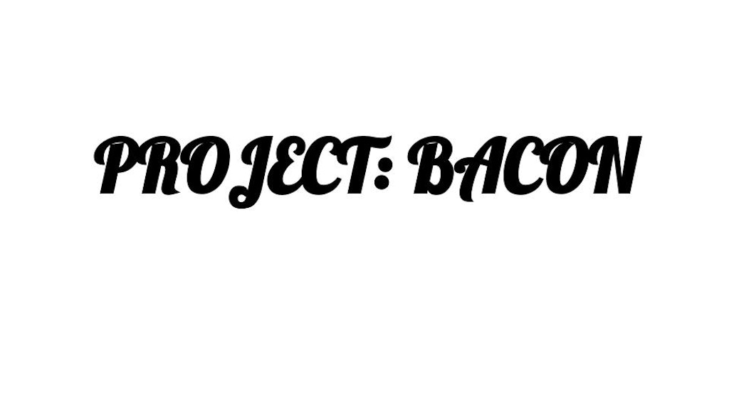 PROJECT: BACON - an awesome & unusual bacon cookbook project video thumbnail