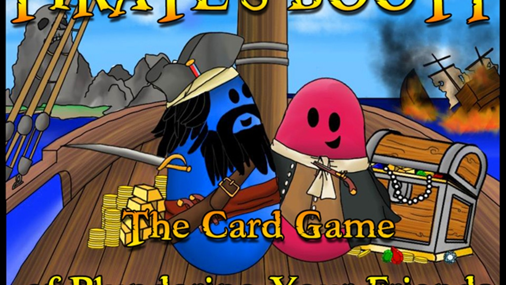 Pirate's Booty - The Card Game of Plundering your Friends project video thumbnail