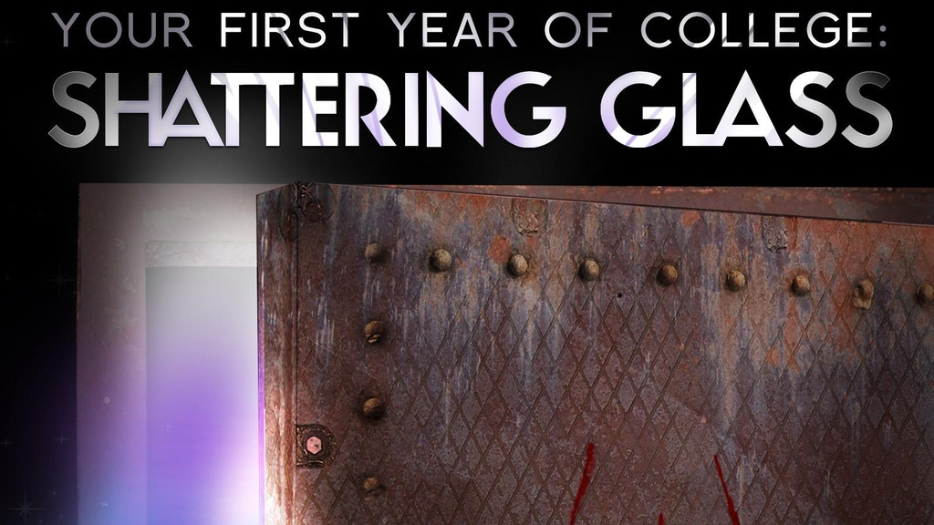 Shattering Glass, a novel of chthonic chaos for college kids project video thumbnail