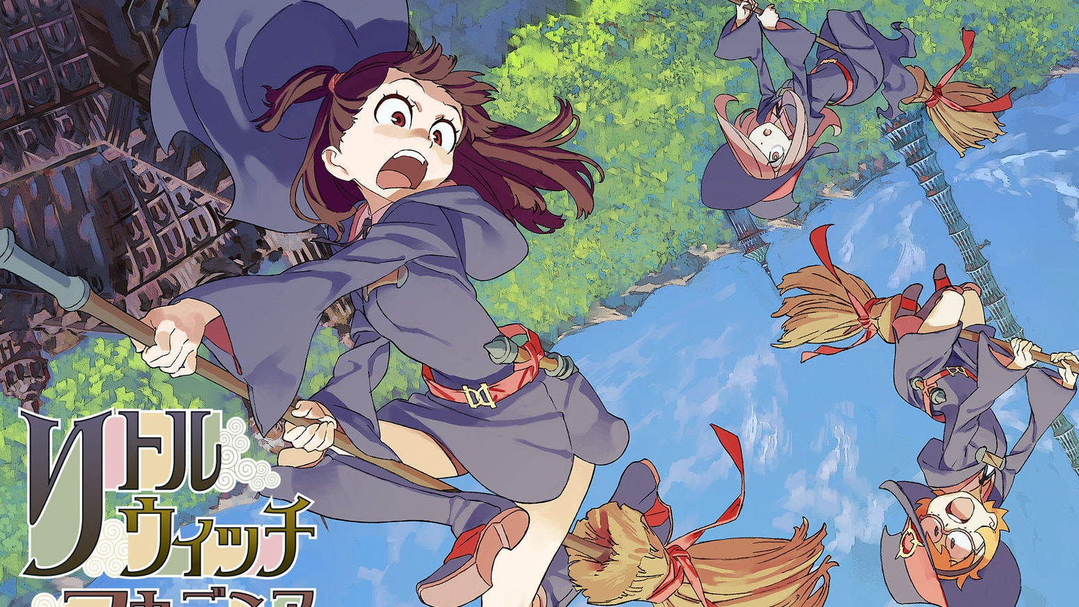 Little Witch Academia 2 By Studio Trigger Kickstarter