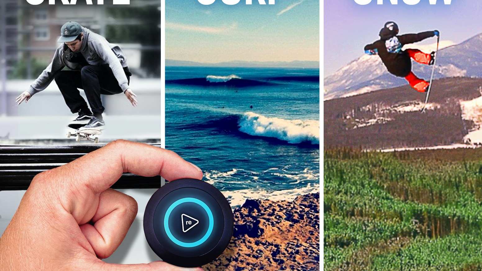 TRACE - The Most Advanced Activity Monitor for Action Sports